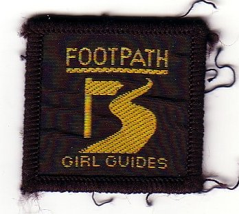 1990s Footpath Badge