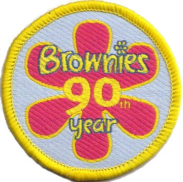 Brownies 90th Birthday 2004 cloth