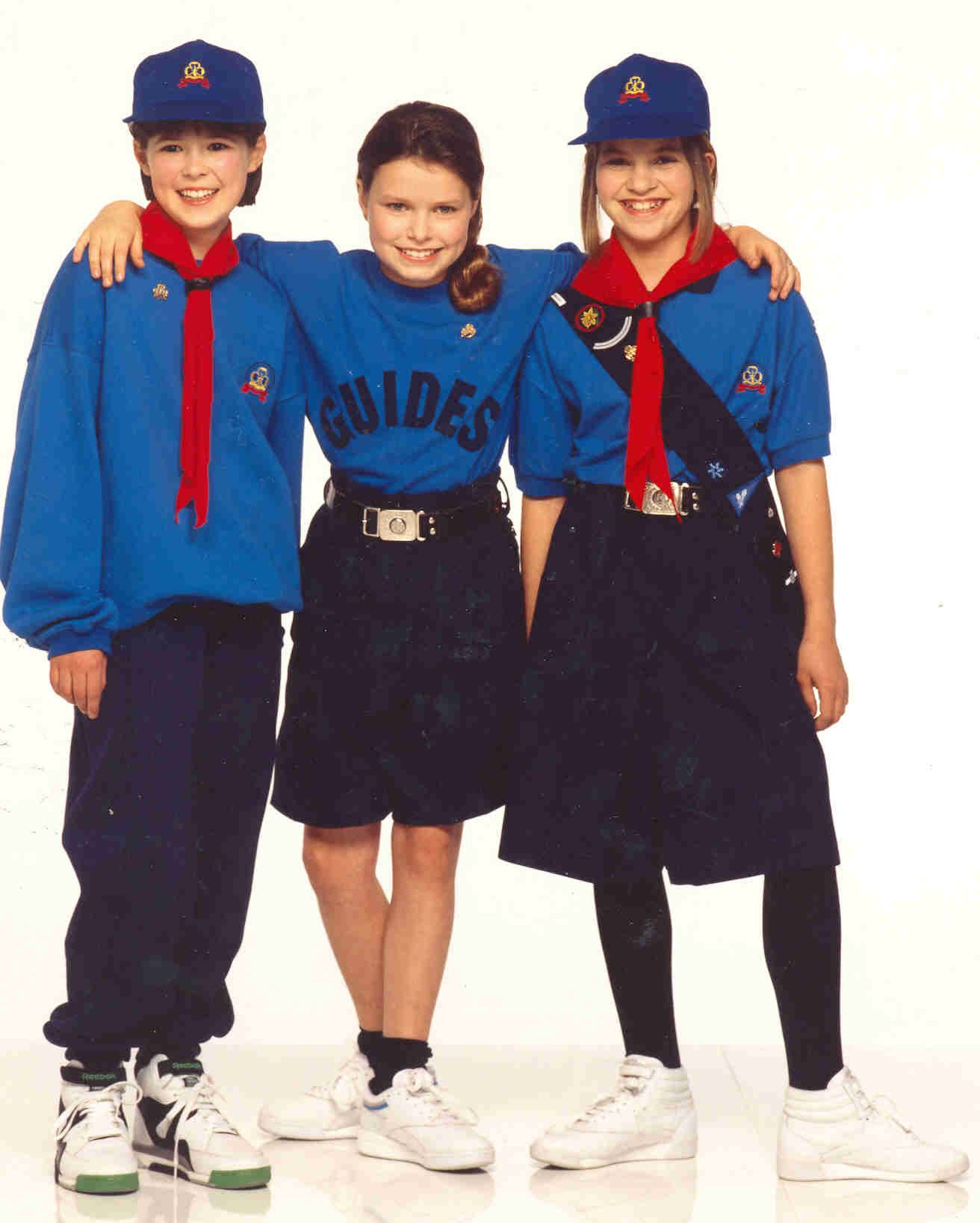 Brownie and girl guide uniforms canada circa 1975 | girl guides of.